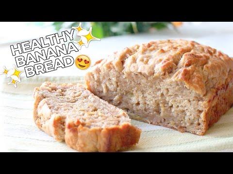 Healthy Banana Bread // Delicious, Easy & Vegan Recipe