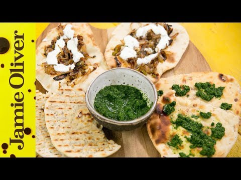 How to Make Naan Bread - 3 Ways | Food With Chetna