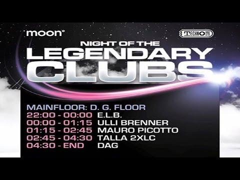 DJ E.L.B. @ Night Of The Legendary Clubs | Technoclub Frankfurt | Club Moon13 (Cocoon)