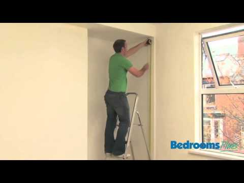 Sliding door wardrobes - Measuring up & Fitting End Panels