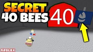 *SECRET* NEW 40 BEE ZONE/WHITE HQ?! (Roblox Bee Swarm Simulator)