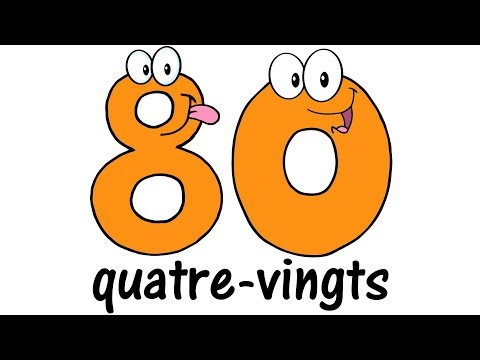 ♫ FRENCH Numbers 1-100 ♫ Big Numbers Song ♫ Compter jusqu'à 100 ♫ Comptine des Chiffres ♫