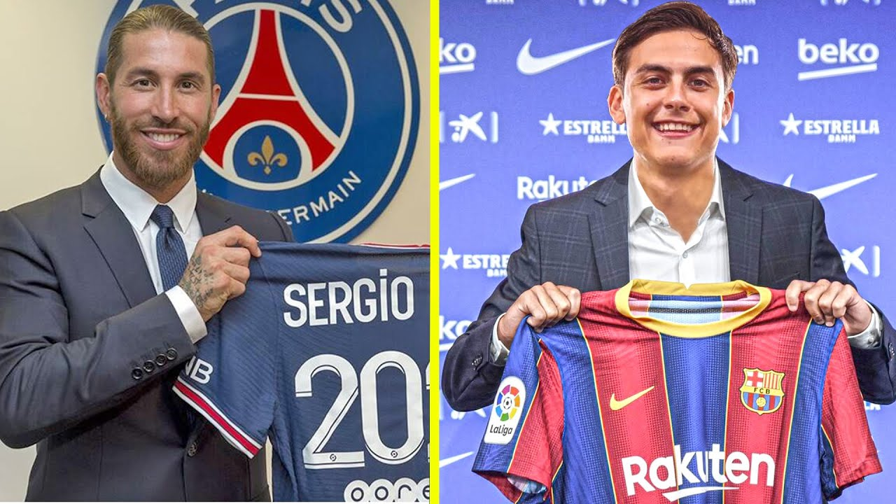 New Confirmed Summer Transfers 2021 Ramos ft. Dybala