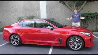 Download Here's Why the 2018 Kia Stinger GT Is Worth $50,000 Video