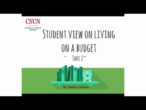 A College Student's View on Living on a Budget