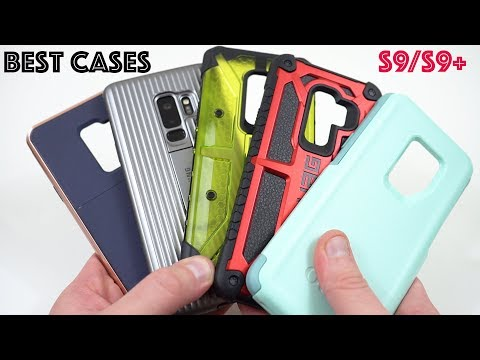 Galaxy S9: My Favorite Drop Protection Cases April 2018 (Random Giveaway!)