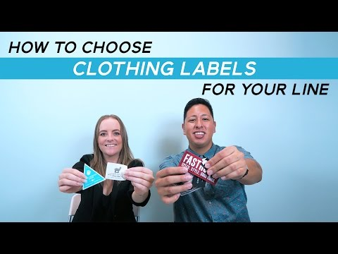 How To Choose Clothing Labels For Your Clothing Line | Types Of Woven Labels