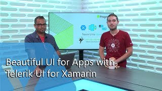 Beautiful UI For Apps With Telerik UI For Xamarin