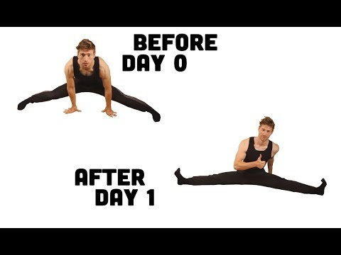 The SPLITS in ONE DAY!