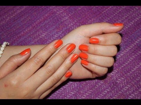 how to apply/remove nail polish
