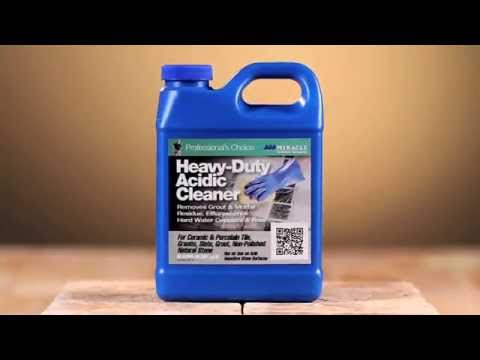 Miracle Sealants - Heavy Duty Acidic Cleaner 2015