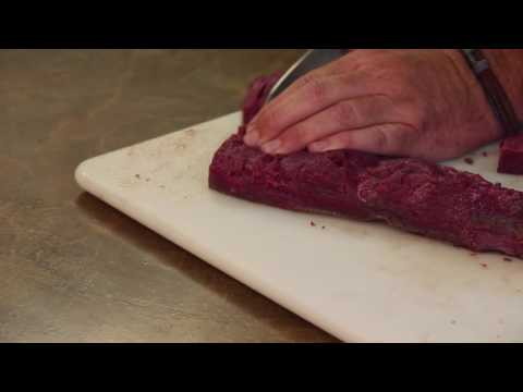Butchering a Deer and How to Cut Backstraps with David Draper