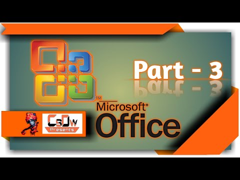 microsoft Office word part -3, Find word,find sentence,change font, microsoft word tutorial.