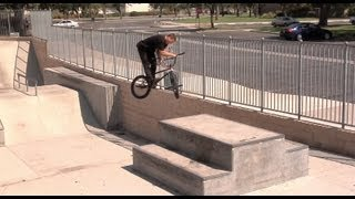 Stevie Churchill BMX Skatepark Video