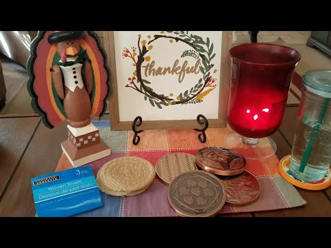 DIY Bath and Body Works Candle lids into coasters
