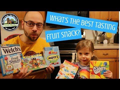 What's the Best Tasting Fruit Snack? Taste Test Ranking