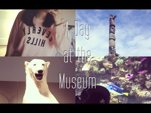 Vlog: A Day at the Museum