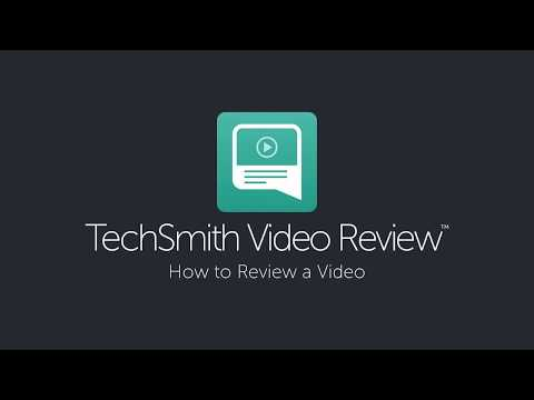 How to Review a Video