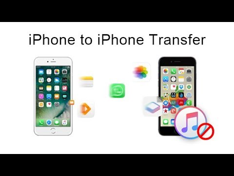 Transfer Data from iPhone 7/6/5 to New iPhone 8/8 Plus/X. No iCloud or iTunes Needed