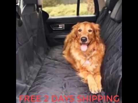 Pet Car Seat Waterproof Cover