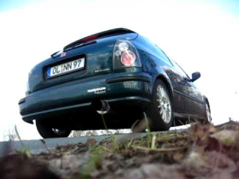 Honda Civic EJ9 Exhaust Sound Magnaflow #1