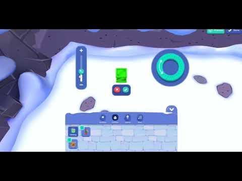 Club Penguin Island - How To Make Igloo Items Big *GLITCH*