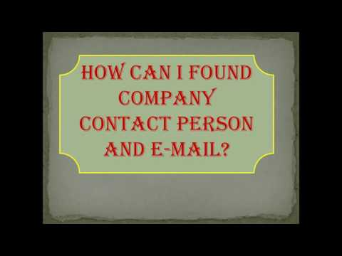 how to collect ceo email adress