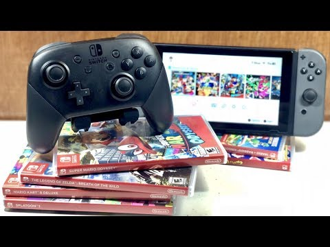 NINTENDO SWITCH PRO CONTROLLER REVIEW! Best Controller Ever Made??