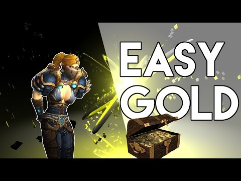 Easy Gold Farming Trick - (Gold Farming in WoW) Warlords of Draenor 6.0.2