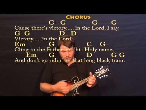 Long Black Train (Josh Turner) Mandolin Cover Lesson with Chords/Lyrics