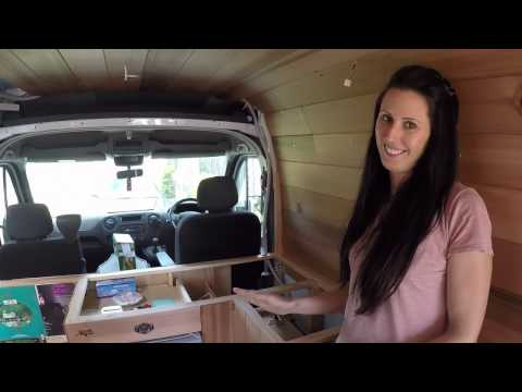 Kitchen cupboards / cabinets - how to - CAMPERVAN CONVERSION