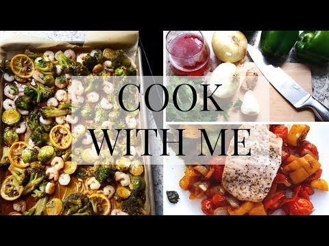 Whole30 Fast and Easy Cookbook | COOK WITH ME |  Recipes & Meals for the Week