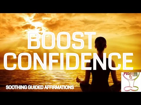 Daily BOOST Your Confidence with Affirmations For Positive Self Esteem Worth Image & Low Self Esteem