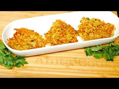 Potato Cheese Patties Recipe