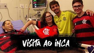 Especial - Rodrigo Caio visita o rubro-negro Rogério Imbroisi no Inca