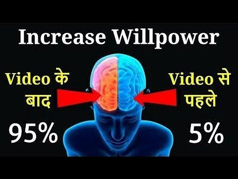 HOW TO INCREASE WILLPOWER QUICKLY  (HINDI) 5 SCIENTIFIC TIPS