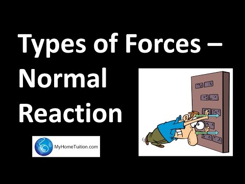 Types of Forces - Normal Reaction | Force and Motion