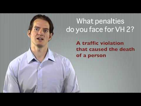 Penalties for vehicular homicide in the 2nd degree in GA