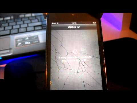 How To: Reset and Setup an iPod Touch