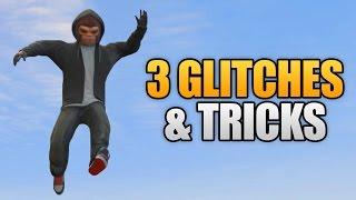 GTA 5 ONLINE - 3 NEW GLITCHES & TRICKS! (Super Jump Glitch, Truck Glitch & Secret Hidden Rooms)
