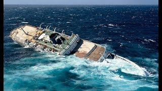 Top 5 Sinking Ship (Scary Footage)