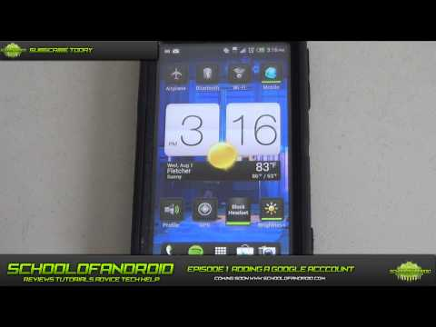 School of Android Ep 1: Adding a Google Account