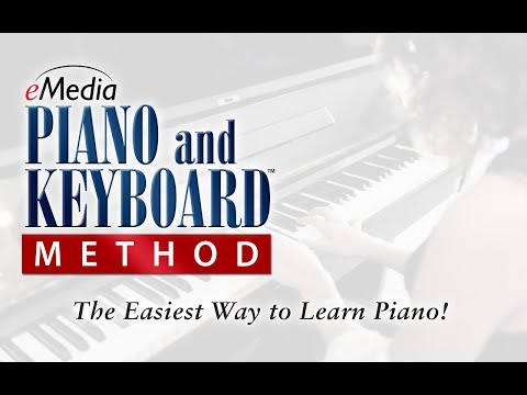 eMedia Piano & Keyboard Method Video Demo
