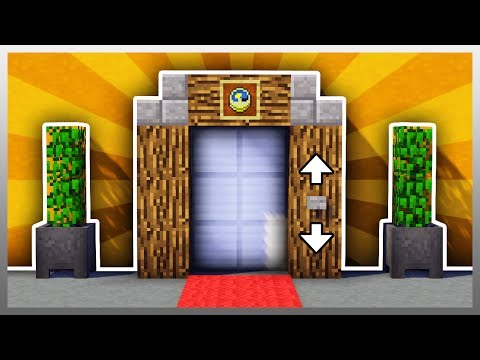 ✔️ How to Build the BEST Elevator in Minecraft! (Survival Friendly)