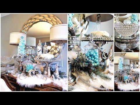 NEW! Winter Wonderland Christmas Dessert Table