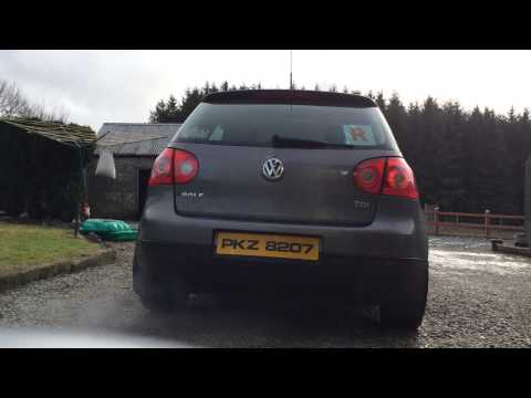 MK5 Golf 1.9 TDI 105 BHP Standard Turbo And Exhaust Noise