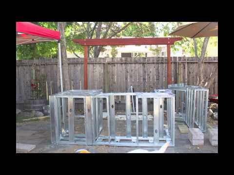 Building an Outdoor Kitchen Island