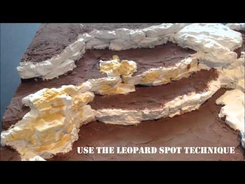 How to make a Model Desert Board