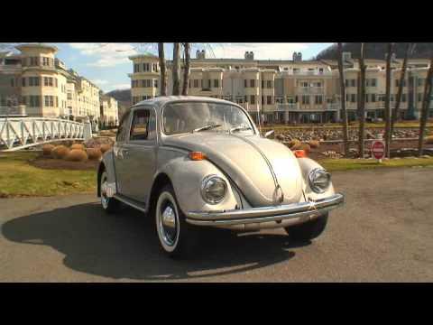 Classic 1970 VW Beetle Sedan Restored Shower