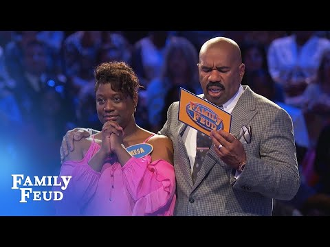 Can the Curneys get to $40,000 in Fast Money? | Family Feud